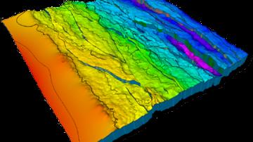 مطالعه اکتشاف ژئوفیزیکی آب زیرزمینی