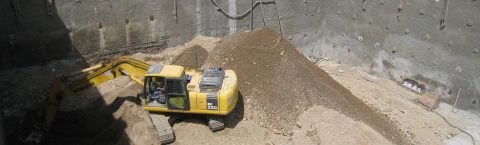 طرح و اجرای انواع سیستمهای پایدارسازی گود مانند نیلینگ و انکراژ